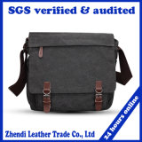 2017 New Styles Over-Grown-Type Leisure Capacity Canvas Messenger Bag (8111)