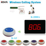 433.92MHz Wireless Restaruant Guest Call Bell Service