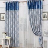 New Modern Jacquard Living Room Blackout Window Curtain (06F0029)