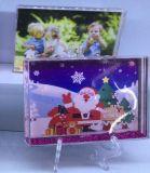 Bulit in Liquid Photo Frame Plastic Photo Frame Promotion Gift