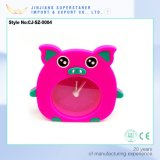 Little Pink Piggy Silicone Electronic Alarm Clocks