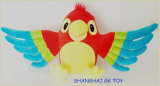 Educational Toy Colorful Plush Parrot Puppet