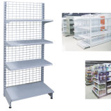 Supermarket Display Stand Net Back Shelf