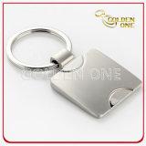 Promotion Square Shape Custom Engraving Metal Key Chain