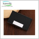 PU Stainless Steel Material Business Name Card Holder