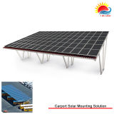 Ground solar mounting system