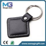 Hot Sales Promotional Genuine Leather Keyring
