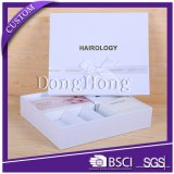 High Quality White Texture Paper Customized Gift Box Packaging Luxury