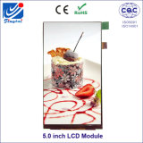 5.0 Inch High Brightness Full Viewing Angle IPS TFT LCD