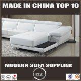 Modern European Design Top Grain Leather Sofa (LZ-2293)