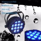 IP65 DMX XLR and IP65 Powercon LED Waterproof PAR Light