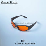 Sport Black Lens Laser Safety Goggles Laser Eye Protection Glasses for 266nm, 355nm, 515nm, 532nm etc.