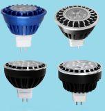 Low Heat Aluminum High Power 12V Dimmable MR16 Gu5.3 LED Bulb