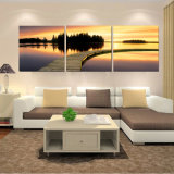 Custom Combination Modern Wall Art Canvas Pictures for Bedroom Hand Painted