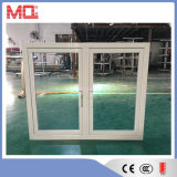 Powder Coated Tempered Glass Aluminum Casement Window