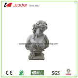 Best-Seller Polyresin Lady Garden Statue for Home and Outdoor Decoration