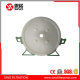 PP Material Round Chamber Type Filter Plate