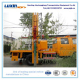 4X2 Jmc Truck Mounted Guardrail Post Driver for Road Barrier Installation