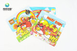 Colorful Cartoon Paper Printing Rigid Card Puzzle