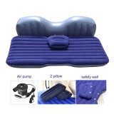Flocked PVC Inflatable Camping Air Mattress for Family