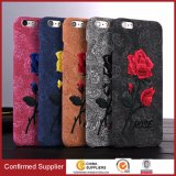 Fashion Design Elegant Embroidery Rose PC Mobile Phone Case