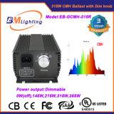Low Frequency 315 Watt CMH Light Ballast for Hydroponic System