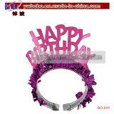 Headwear Birthday Hair Jewelry Tiara Crown Holiday Gift (BO-5111)