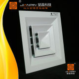 Air Conditioning Square Ceiling Diffuser Decorative Motorized