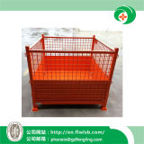 Steel Folding Logistics Cage for Transportation with Ce by Forkfit