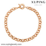 74499 Fashion Simple Brass Jewelry Chain Bracelet in Rose Gold Plated