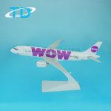 A320 Wow 18.8cm 1/200 Aircraft Plastic Model Plane for Sale