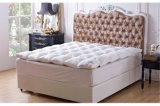High Quality Cheap Wholesale White Down and Feather Polyester Home Reliance Quilted Mattress Topper