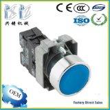 Xb2-Ba61 Blue Color 22mm 1 No (+1NC) Flush Head Momentary Spring Return Push Button Factory