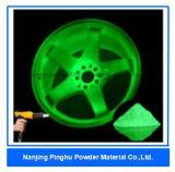 Green Glow in the Dark Powder Coating