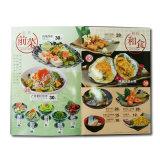 Hardcover Offset Printing Custom Menu for Restaurant