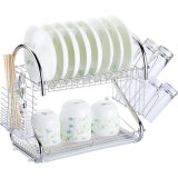 Kt-3511 Metal Household Double Dish Rack