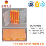 Two Side Cover Plastic Lure Box