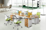 Steel Frame 4 Person Workstation /Office Furniture