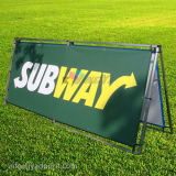 Outdoor Advertising a Frame PVC Banner Double Sided Display