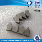 High Quality Yg6 Cemented Carbide Brazed Tips C125