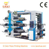 Economical Laminated Materials 6 Color Flexographic Printing Machine