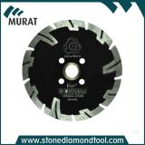 Turbo Segment Flush Diamond Saw Blade with Reinforce Protecting Teeth