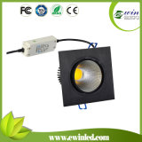 Shenzhen High Quality Dimmable 10W Square COB LED Downlight with CE SAA