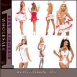 Sexy Halloween Woman Naughty Nurse Cosplay Uniform Girls Costume (80773)