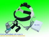 Medical Instruments Surgery Inspection Illumination LED Headlight with Magnifier
