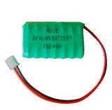9V 180maH Ni-mh rechargeable battery
