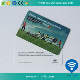 Cr80 Size 0.76mm Thickness PVC Plastic Card
