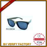 Handmade Black Wooden Sunglasses&Fudan Glasses (FX15034)