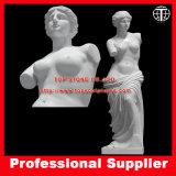 Venus De Milo Marble Sculpture Marble Statue Stone Carving for Garden