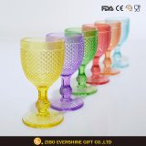 Tableware Colored Glass Crystal Wine Glass